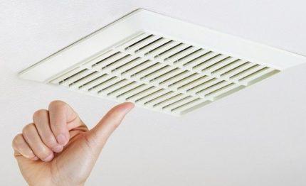 Le besoin de ventilation