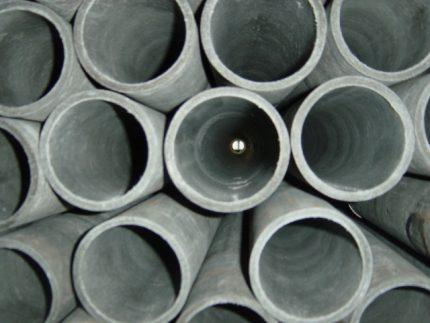 Azbestcementa caurules
