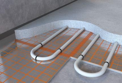 Ūdens tipa siltas grīdas priekšrocības