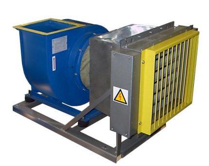 Gaisa sildīšanas iekārta