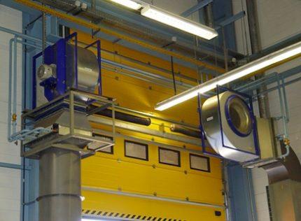 Ventilatora sildītāja sistēma