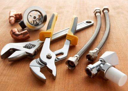 Plumbing tool kit