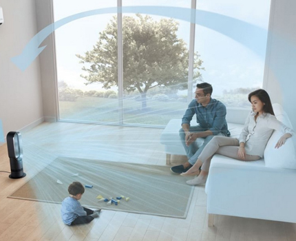 Vaneless models allow you to relax