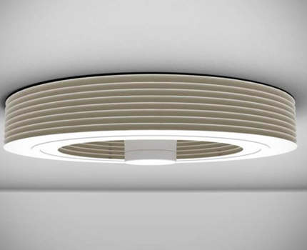 Ceiling variant fanless fan