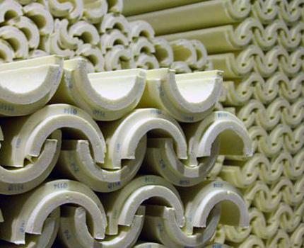 Polyurethane Foam Half Cylinders