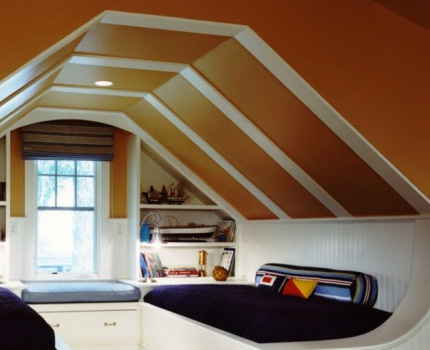 Favorable attic microclimate
