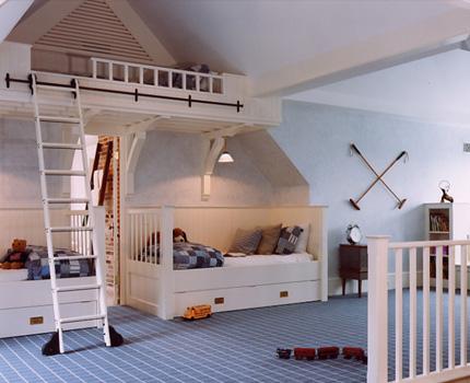 Turn the attic into a nursery