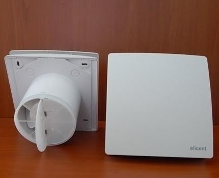 Clapet anti-retour de ventilateur