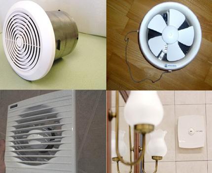 Modèles de ventilateurs d'extraction