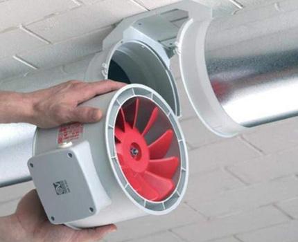 Modèles de ventilateur de gaine