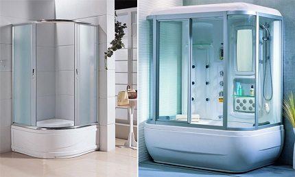 Duschrum i standard design