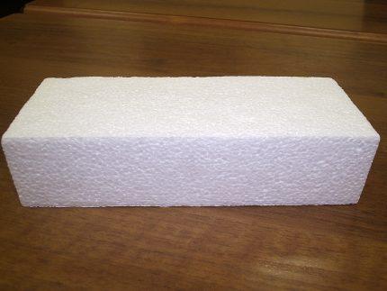 Styrofoam for stand