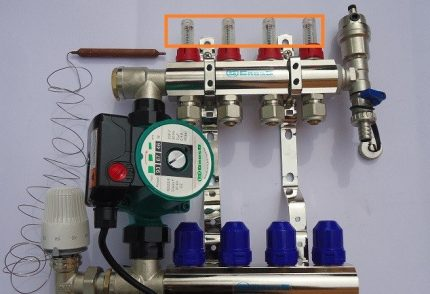 Collector Flow Meters and Servo Drives