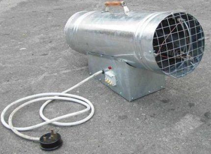 Grille de radiateur soufflant