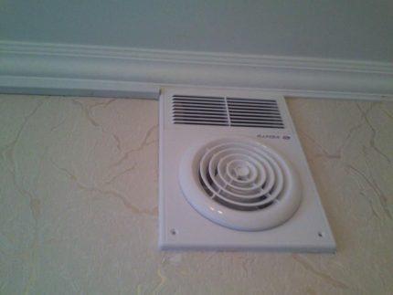 Grille de ventilation double