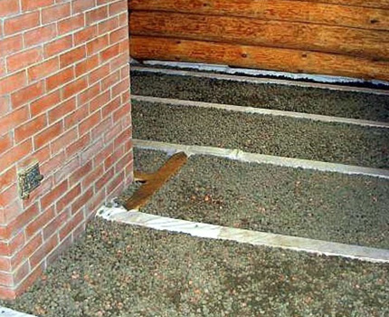 Installation de planchers de bain ventilés