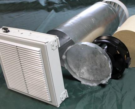 Accessoires pour appareil de ventilation