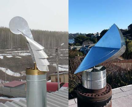Single-story chimney vents