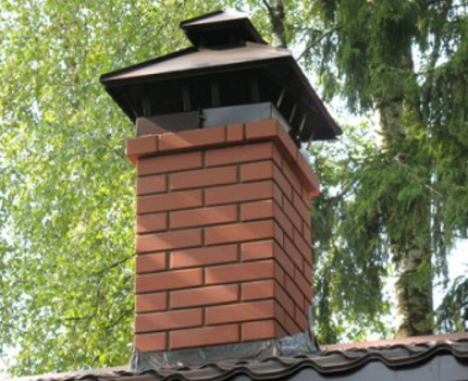 Frosts will not affect the operation of the chimney