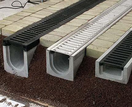 Virszemes kanalizācijas sistēmas elementi