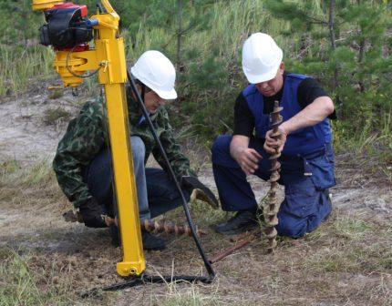 Geological engineering surveys