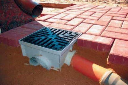 Spot drainage