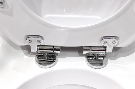 Microlift on the toilet seat cover