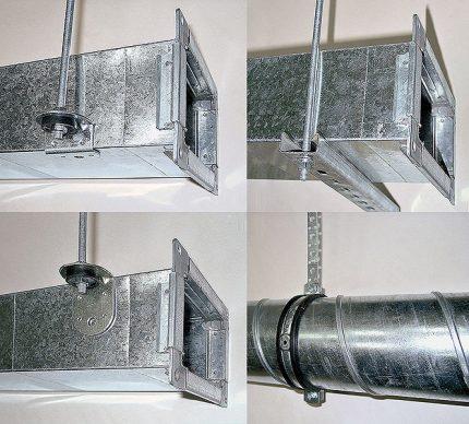 Conduit d'air en métal