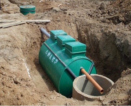 Private sewer system