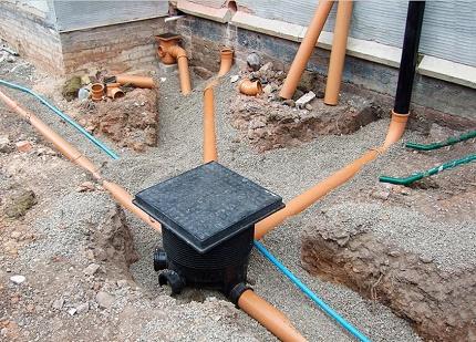 Kanalizācijas kolektors DIY
