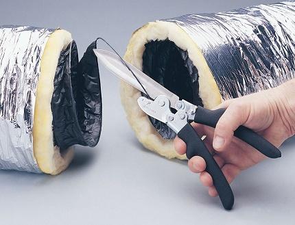 Conduit flexible isolé pour installation de ventilation