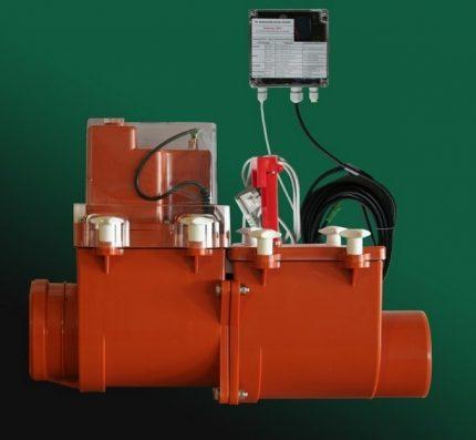 Užrakinimo įtaisas su elektros varikliu