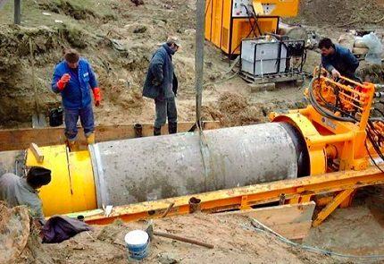 Microtunneling method