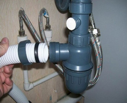Siphon, an important part of plumbing