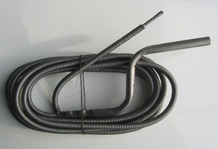 Cable for mechanical pipe cleaning