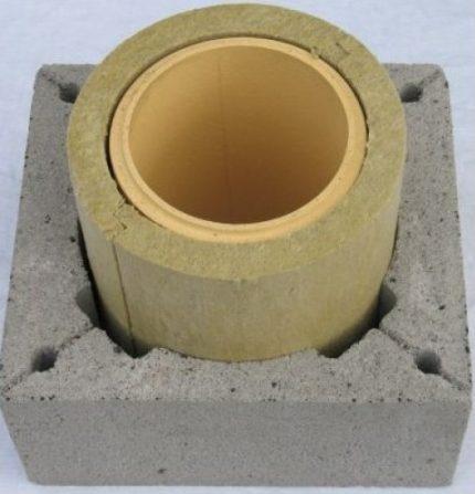 Dispositif de cheminée en céramique