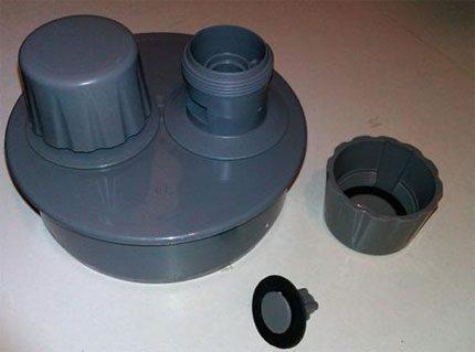Aeration valve device