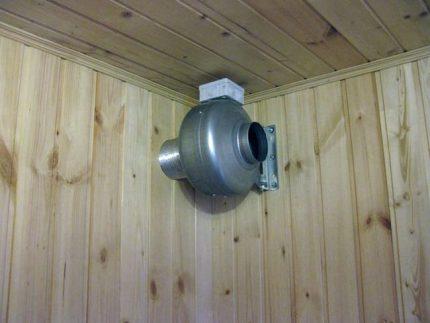Ventilateur d'extraction pour le bain