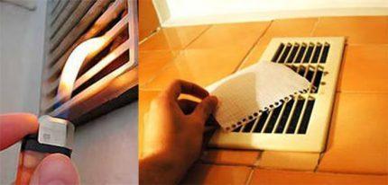 Check ventilation