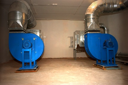 Radial installations