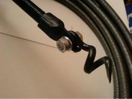 Plumbing flexible shaft