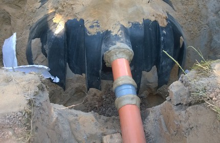 Durable outdoor piping