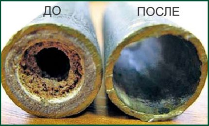 Hydraulic pipe cleaning