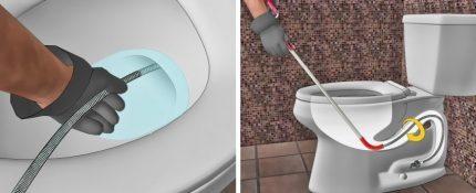 Kabelio pasirinkimas kanalizacijos valymui