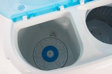 Activator type washer