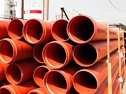 PVC caurules