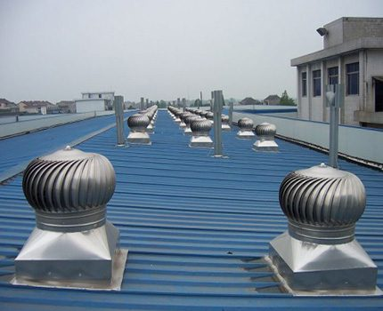 Flat roof mounting