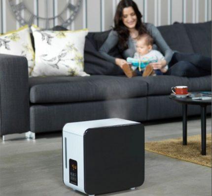 Steam humidifier Boneco Air-o-Swiss S 450