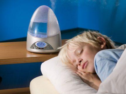 Humidifier noise level