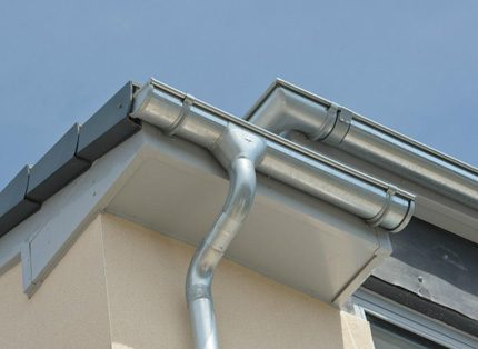 Metal gutter systems